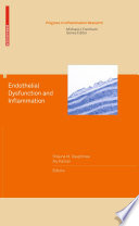 Endothelial Dysfunction And Inflammation Book PDF