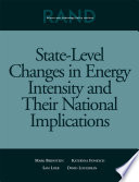 State Level Changes in Energy Intensity and Their National Implications Book