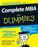 Complete MBA For Dummies Pdf/ePub eBook