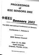 Proceedings of IEEE Sensors