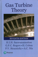 Cover of Gas Turbine Theory