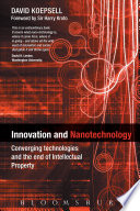 Innovation and Nanotechnology