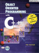 OBJECT ORIENTED PROGRAMMING WITH C   WITH EIGHTH EDITION