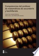 Competencias del profesor de matemáticas de secundaria y bachillerato (eBook)
