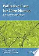 Palliative Care for Care Homes