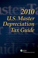2010 U S  Master Depreciation Guide