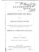 Alcohol and the Constitution of Man