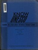 Know UNESCO