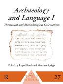 Pdf Archaeology and Language I Telecharger