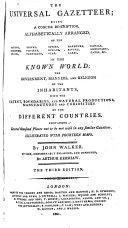 The Universal Gazetteer