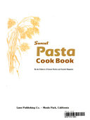 Sunset Pasta Cook Book