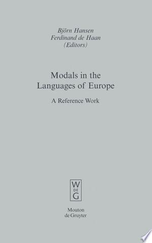 Download Modals in the Languages of Europe Free Books - E-BOOK ONLINE