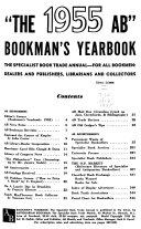 AB Bookman s Yearbook