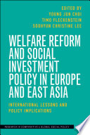 Welfare Reform And Social Investment Policy