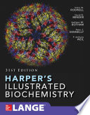 Harper S Illustrated Biochemistry Thirty First Edition Book PDF