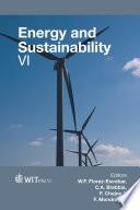 Energy and Sustainability VI