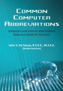 Common Computer Abbreviations