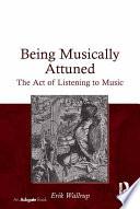 Being Musically Attuned Book PDF
