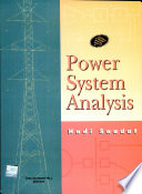 Power System Analysis (With Disk)