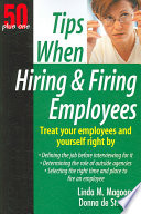 Tips When Hiring and Firing Employees
