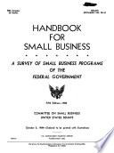 Handbook for Small Business