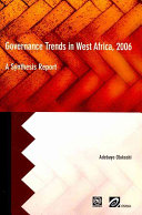 Governance Trends in West Africa 2006: A Synthesis Report ebook