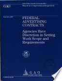 Federal Advertising Contracts