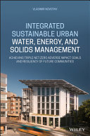 Integrated Sustainable Urban Water  Energy  and Solids Management