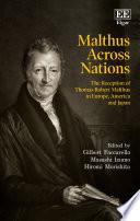 Malthus Across Nations