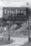 Pdf Lynching