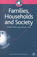 Families Households And Society