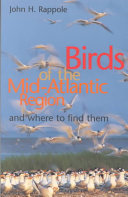 Birds of the Mid Atlantic Region and where to Find Them