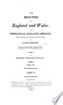 The Beauties Of England And Wales Book