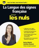 Pdf La Langue des Signes Française pour les Nuls grand format Telecharger