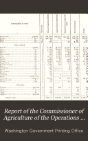 Report of the Commissioner of Agriculture of the Operations of the Department for the Year 1876