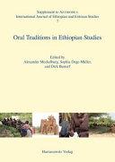 Oral Traditions In Ethiopian Studies