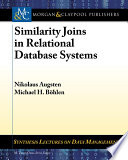 Similarity Joins In Relational Database Systems Book PDF