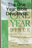 Pdf The One Year Bible Devotional