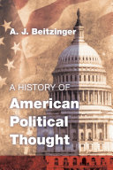 A History of American Political Thought Pdf/ePub eBook