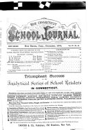 The Connecticut School Journal