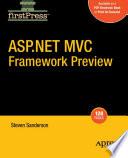 Asp Net Mvc Framework Preview
