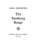 Carl Sandburg Books, Carl Sandburg poetry book