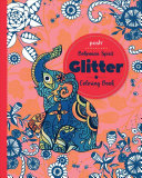 Posh Glitter Coloring Book Bohemian Spirit Book