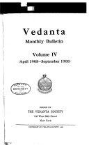 Vedanta Monthly Bulletin