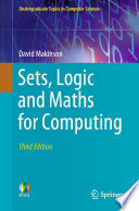 """Sets, Logic and Maths for Computing"" by David Makinson"