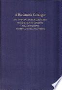 A Bookman S Catalogue Vol 1 A L