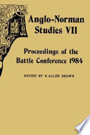 Read Online Anglo-Norman Studies VII For Free