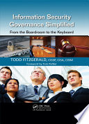Information Security Governance Simplified Book