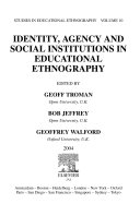 Identity  Agency and Social Institutions in Educational Ethnography