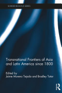 Pdf Transnational Frontiers of Asia and Latin America since 1800 Telecharger